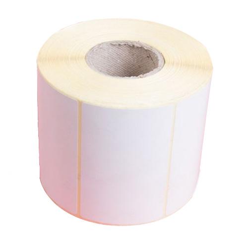 لیبل کاغذی 100*80 رول 500 عددی