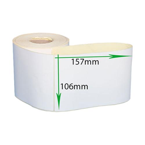 لیبل کاغذی 157*106 رول 500 عددی